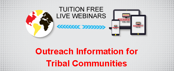 Outreach Information for Tribal Communities