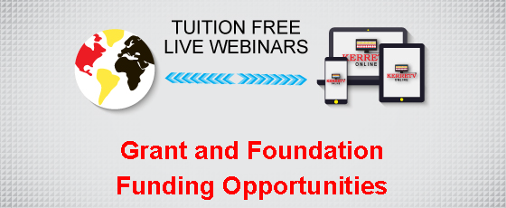 Grant and Foundation Funding Opportunities