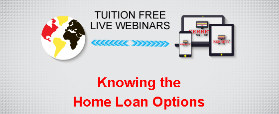 Knowing the Home Loan Options: Overview and Update