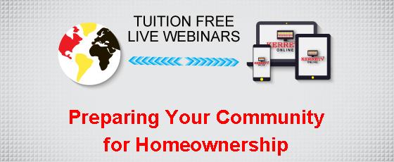 Preparing Your Community for Homeownership