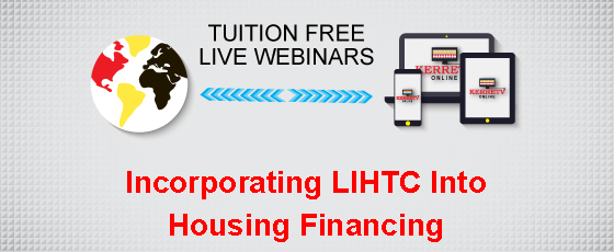 Incorporating LIHTC Into Housing Financing