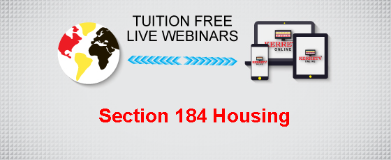 Section 184 Housing