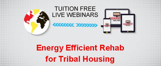 Energy Efficient Rehab for Tribal Housing
