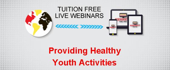 Providing Healthy Youth Activities