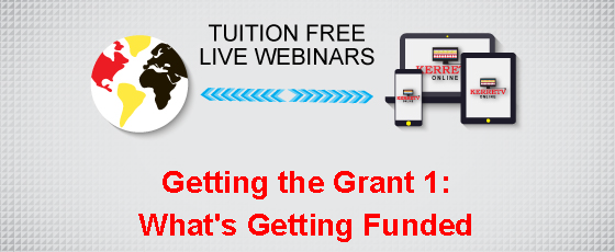 Getting the Grant 1: What's Getting Funded