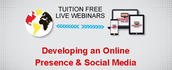 Developing an Online Presence & Social Media