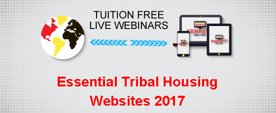 Essential Tribal Housing Websites 2017