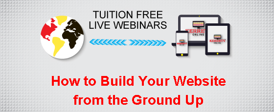 How to Build Your Website from the Ground Up