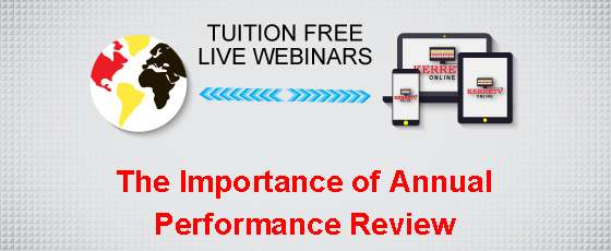 The Importance of Annual Performance Review
