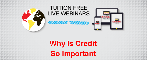 Why Is Credit So Important