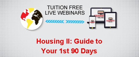 Housing II: Guide to Your 1st 90 Days
